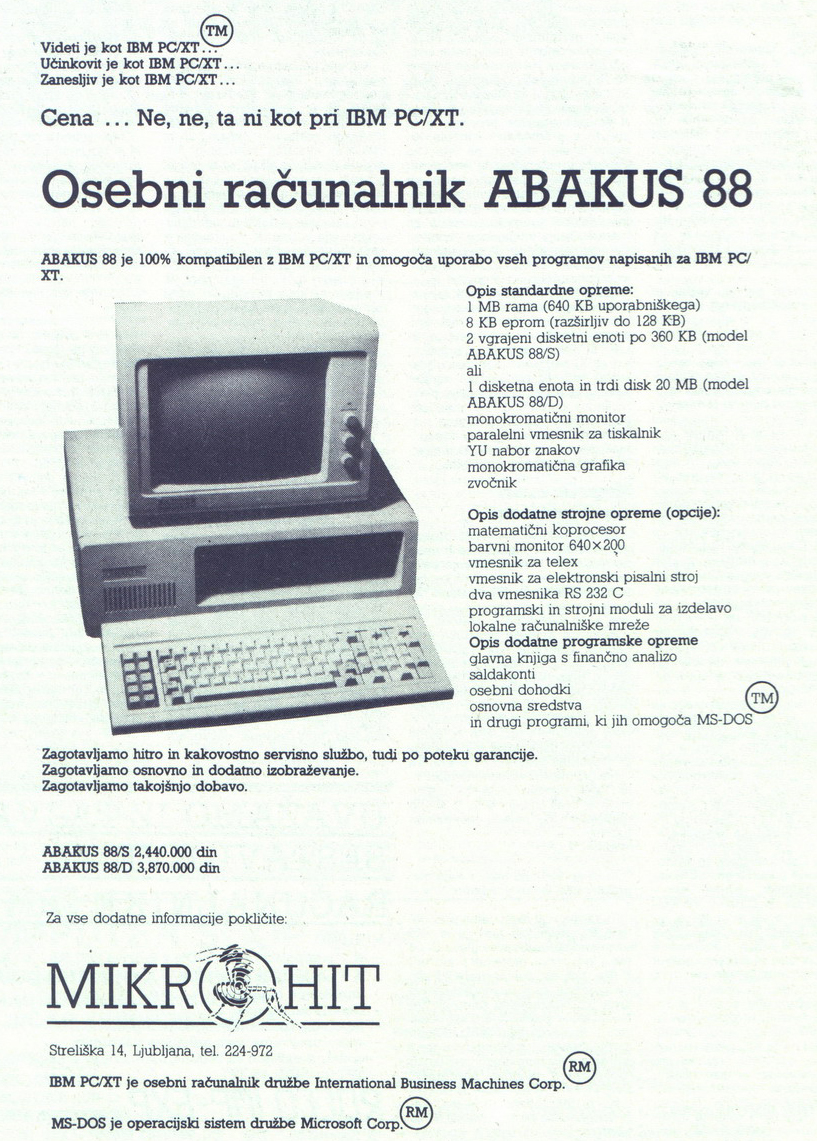 Abakus 88
