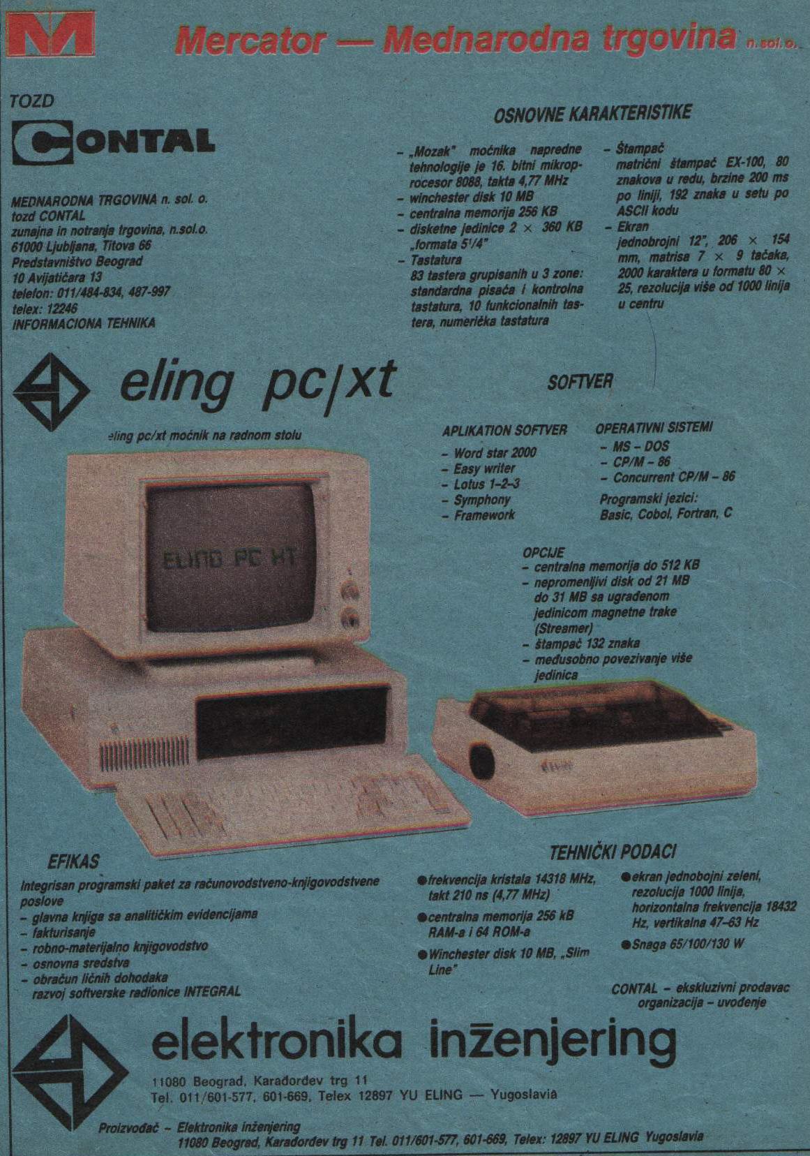 ELING PC XT