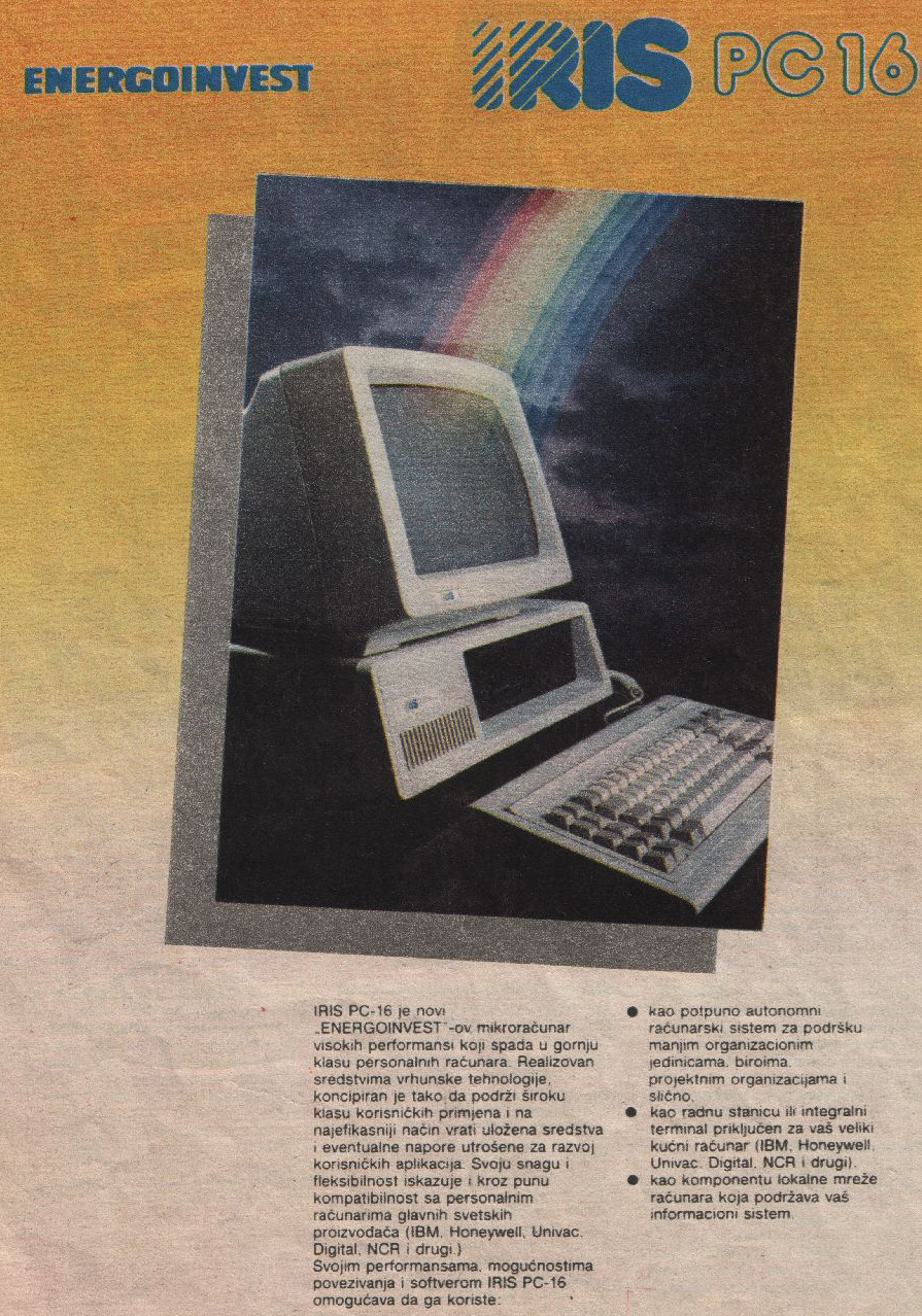 IRIS PC 16