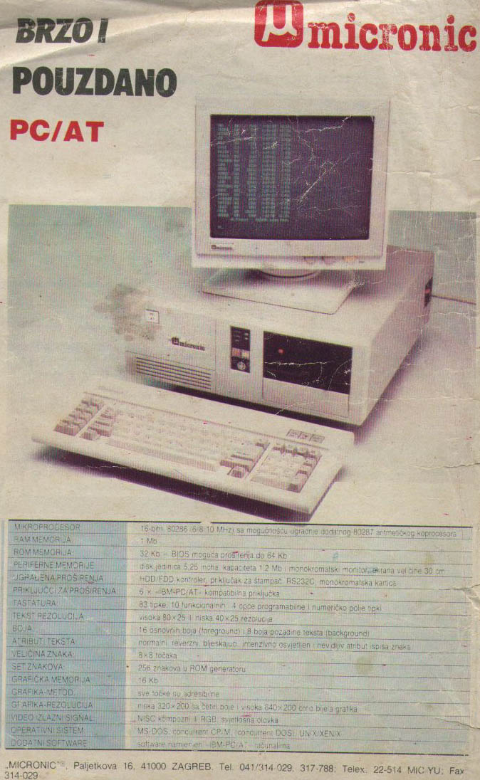 Micronic PC AT
