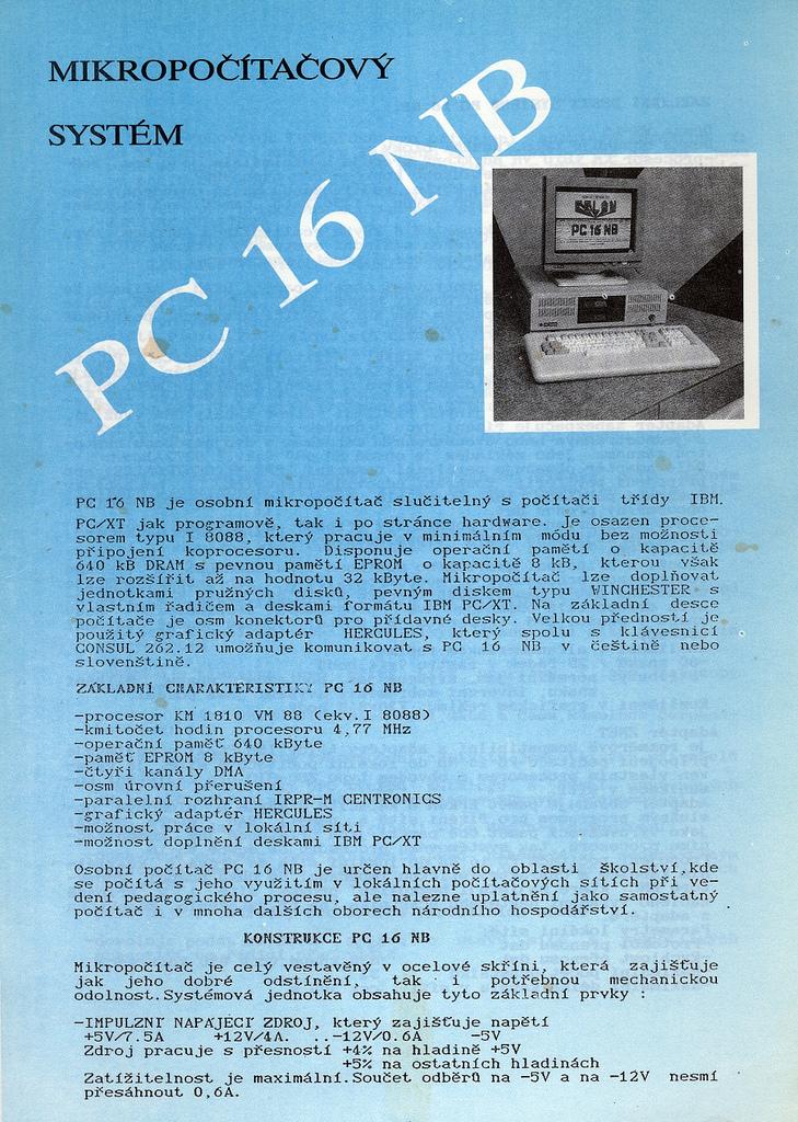 PC 16 NB